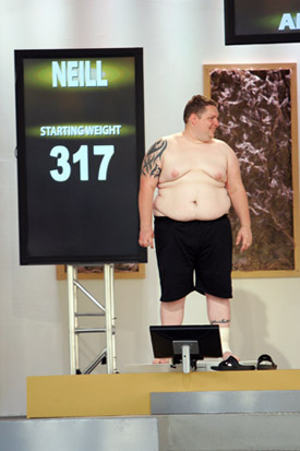 Neill Harmer Starting Weight - Biggest Loser Season 5
