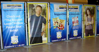 Biggest Loser Wichita Signage