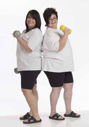 Biggest Loser Ali and Bette-Sue