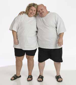 Biggest Loser Kelly and Paul