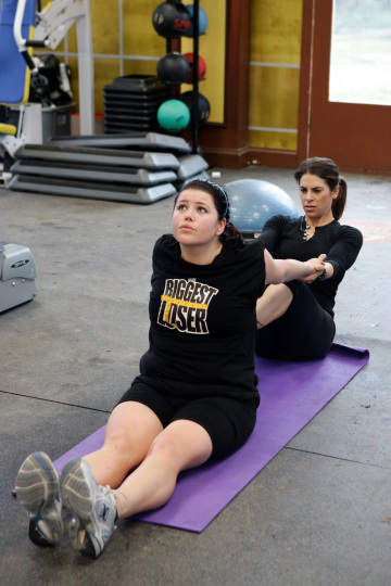 Biggest Loser Brittany and Jillian Michaels