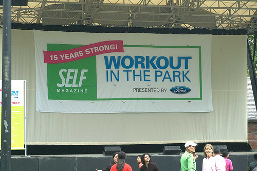 self magazine in the park