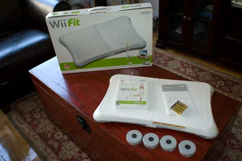Wii Fit Un-Boxed