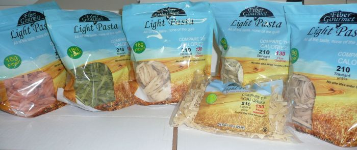 fiber gourmet pasta