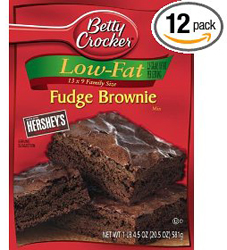 betty crocker brownies