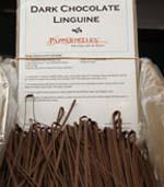 dark chocolate linguine