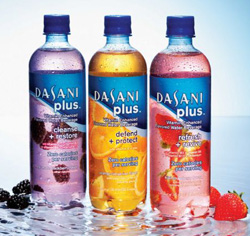 dasani plus vitamin water