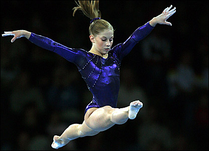 Gymnastics Shawn Johnson