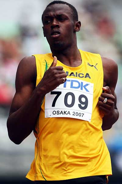 how tall is hussain bolt