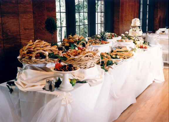 Pictures Of Pretty Buffet Dinner Receptions