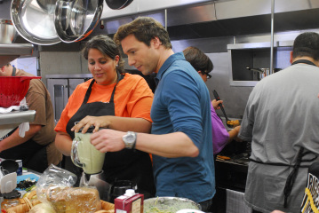 heba and chef rocco