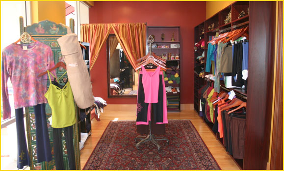 Yoga boutique