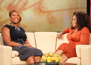 queen latifah on oprah