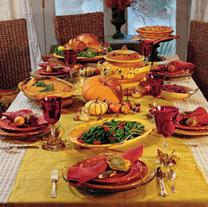 & thanksgiving-table-setting