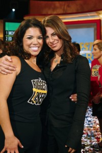 Michelle Aguilar with Jillian Michaels
