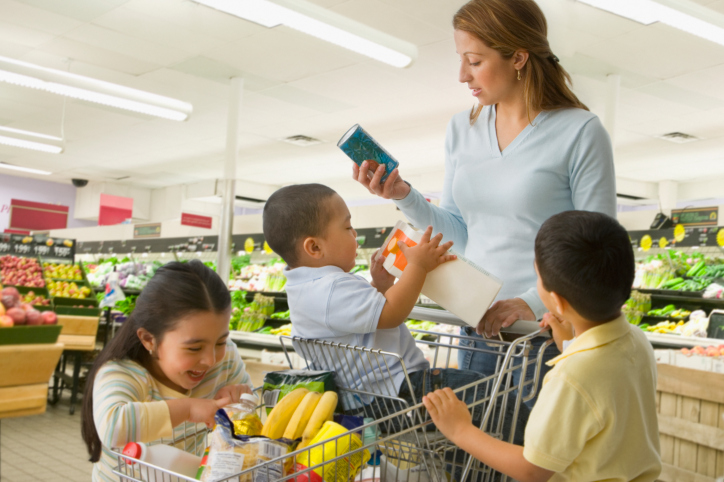 healthy grocery shopping list to take to the store