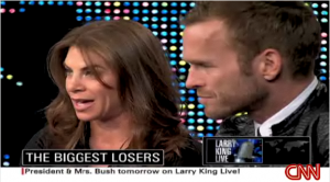 Biggest Loser trainers Jillian Michaels and Bob Harper