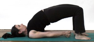 yoga bridge pose