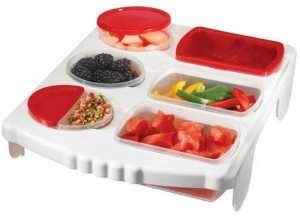 smart portion tray