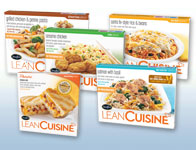 Lean Cuisine's spa entrees