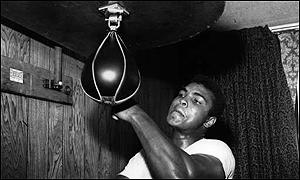 Muhammad Ali woke at 5 a.m. each day to train.