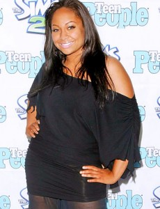 Singer-actress Raven-Symone
