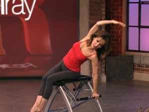 Susan Lucci uses the Malibu Pilates Chair for workouts.