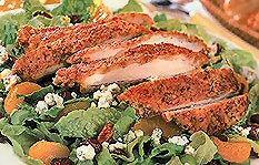 tgi friday's pecan crusted chicken salad