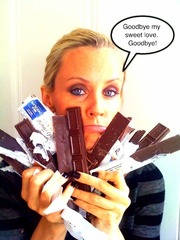 Jenny McCarthy giving up sugar. Photo courtesy of Oprah.com