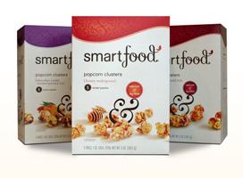 smartfood popcorn clusters