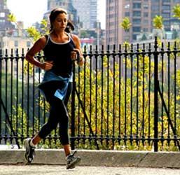 central park runner