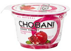 chobani pomegranate