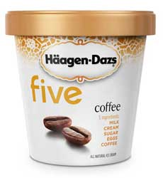 haagen dazs five coffee