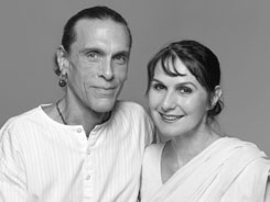 Jivamukti yoga founders: David Life & Sharon Gannon