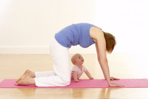 yoga with baby