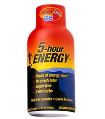 5-hour energy shots