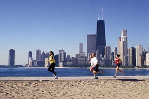 chicago lakefront walk
