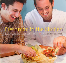 freshman in the kitchen