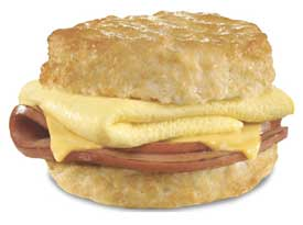 hardees fried bologna biscuit