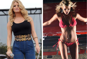 jessica simpson weight