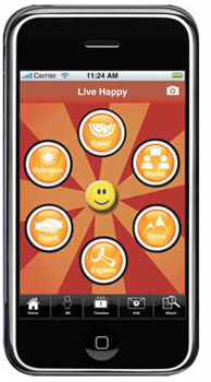 live happy iphone app