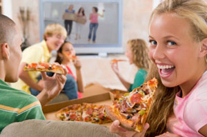 teen pizza party