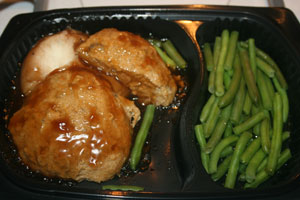 diet to go turkey and green beans