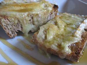 honey cheese toast