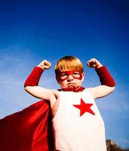 kid superhero