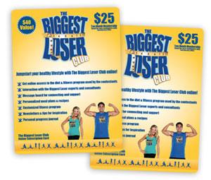 biggest loser gift card