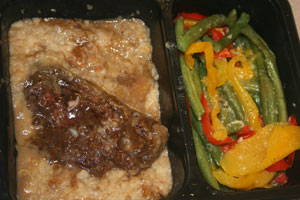 Diet to Go meals: Beef short rib with green bean blend