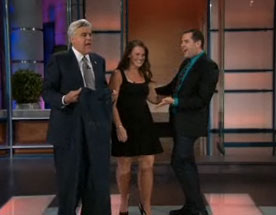 Biggest Loser's Tracey Yukich and Ross the Intern