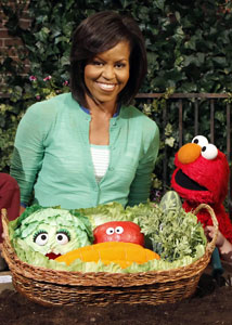 michelle obama childhood obesity