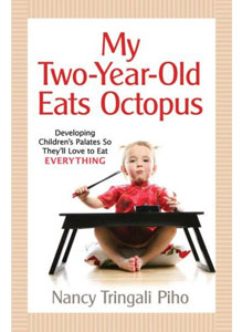 my two year old eats octopus